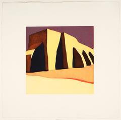 Las sombras de la iglesia del pueblo de San Ildefonso, 36/54, 1984-85