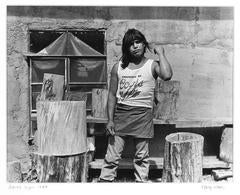 James Lujan, 1989 (alt title: James Montoya, Apprentice to Drum Maker, 1985)