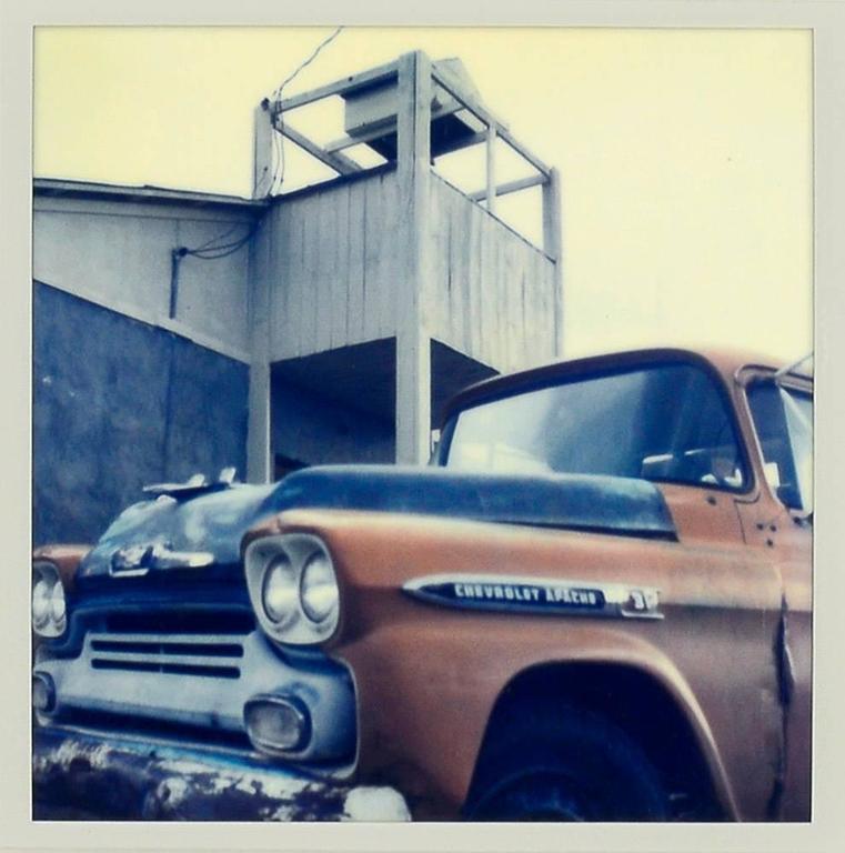 Harold Joe Waldrum Color Photograph - Truck, New Mexico