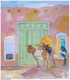 Pack Mules at Green Door