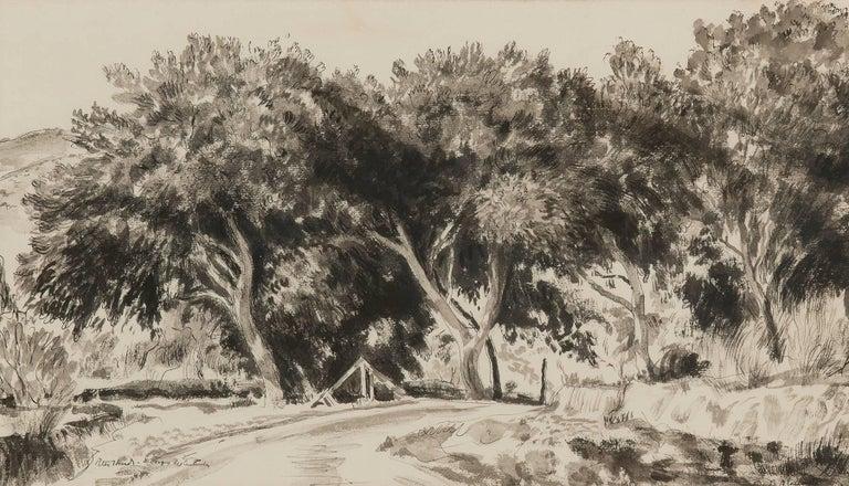 El Bosque del Centinela - Art by Peter Hurd