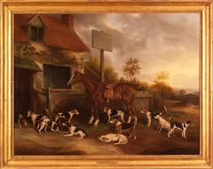 Sir George Denys's Hunters and Harriers