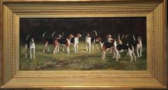The Belvoir Hounds, 1894