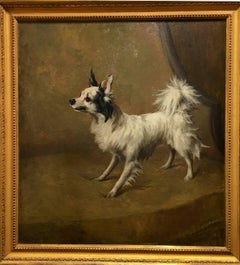 Papillon on a Chair, 1880