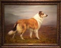 Collie in a Landscape, 1896