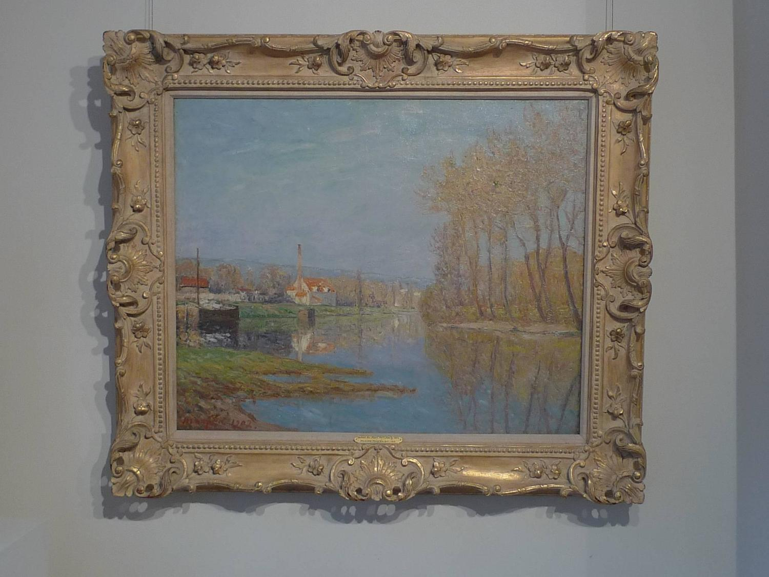 Maxime maufra soleil du mars port marly march sun - Point p port marly ...