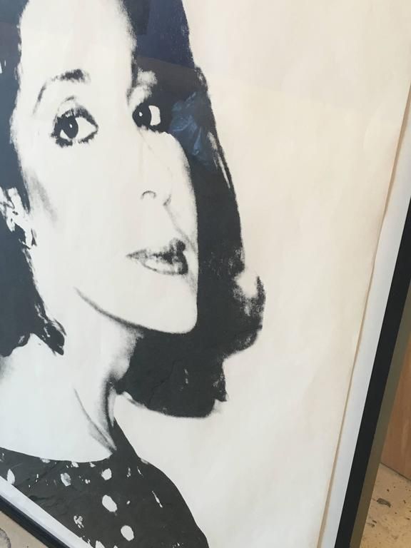 Unknown Female - Print by Andy Warhol