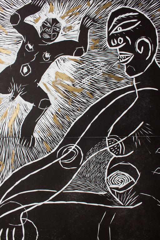 Secret State Goddess - Contemporary Print by Akio Takamori