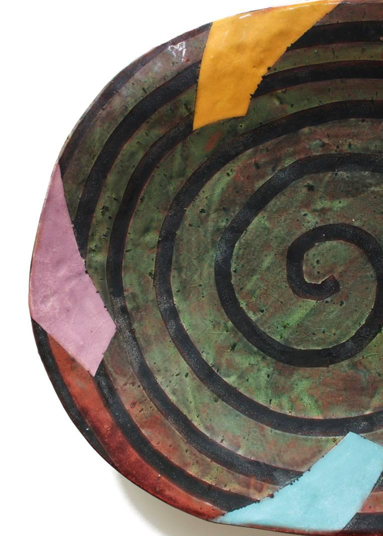 Untitled Platter 2 - Contemporary Art by Jun Kaneko