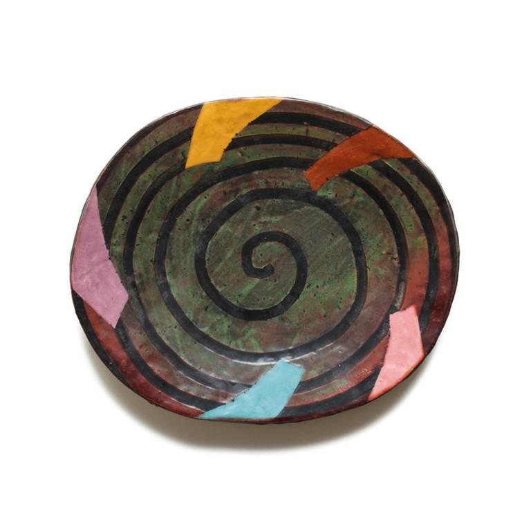 Untitled Platter 2 - Art by Jun Kaneko
