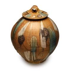 Large Covered Jar 1