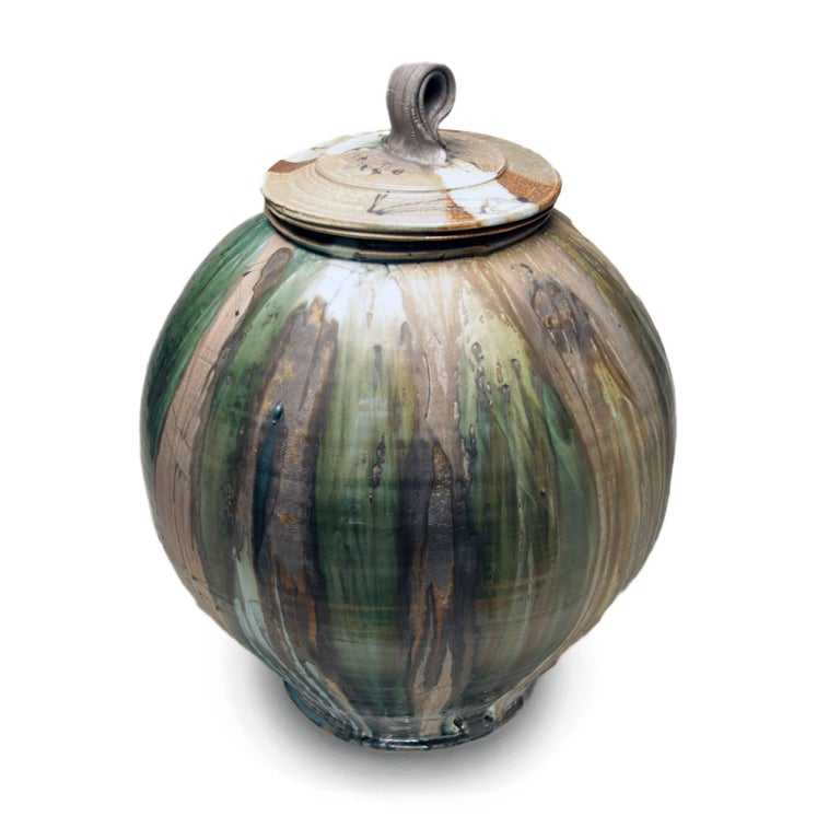 Large Covered Jar 3 - Contemporary Art by Josh DeWeese