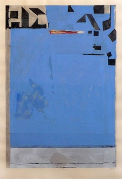 Blue with Red by Richard Diebenkorn