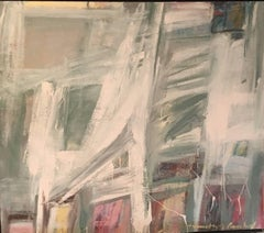 Non Objective with Grey Abstract Expressionist