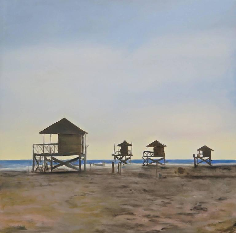 Unfinished Furniture New Orleans Antonio Ugarte   Crandon Park Beach,  Painting At 1stdibs