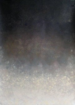 Snowy Night - 30 X 22 acrylic on archival paper