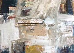 Abstract Expressionist with Assemblage
