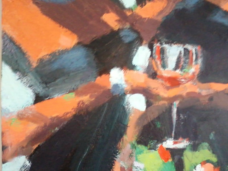 First Impressions - Abstract Painting by Robert Freeman