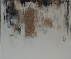 Shimmering Sand-white, grey, black, brown 48 X 60