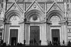 Siena Duomo Shadows