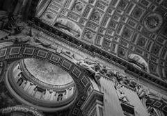 Angels in the Architecture: Vatican Ceiling