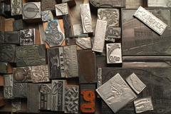 Typesetter's Stamps