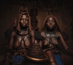 Himba Women Epupa Falls 13