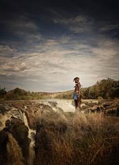 Himba Girl Epupa Falls 2, Namibia