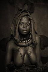 Himba Woman Epupa Falls 2, Namibia