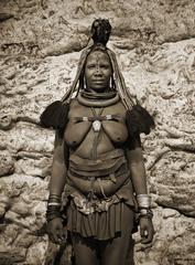 Himba Woman Epupa Falls 6, Namibia