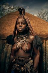 Himba Woman Epupa Falls 8