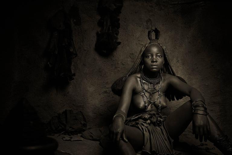 Himba Woman Epupa Falls 1