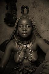 Himba Woman Epupa Falls 14