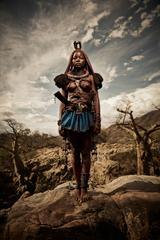 Himba Woman Epupa Falls 3