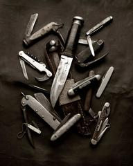 Memoria Knives - Black & White