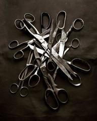 Memoria Scissors - Black & White