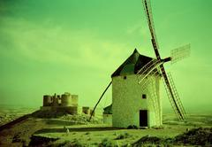 Werner Pawlok - Windmills in Andalusia II