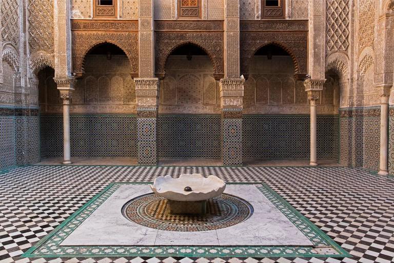 Massimo Di Lorenzo - Bou Inania Medersa, Ver. 2, Fez, Morocco 1
