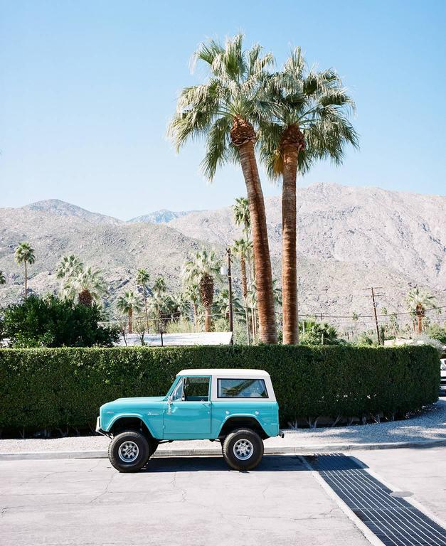 Jim Ryce Color Photograph - Bronco