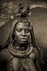 Himba Woman Epupa Falls 9