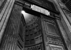 Pantheon Doors Sunlight