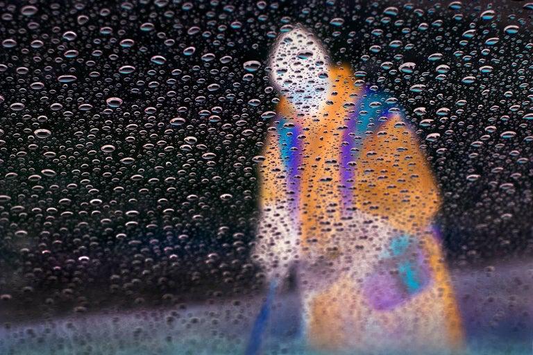 Bill Sosin Color Photograph - Proper Souls - Gathering Rain