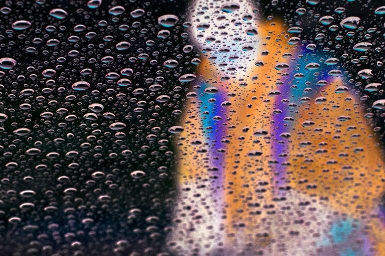 Proper Souls - Gathering Rain - Black Color Photograph by Bill Sosin