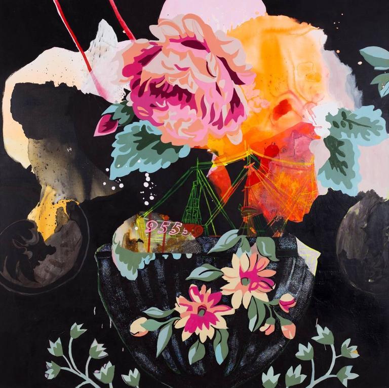 Elisabeth Condon Landscape Painting - The Sinking of 95559
