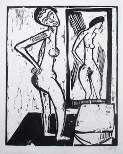 Mädchen vor dem Spiegel (Girl before a Mirror)