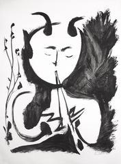 Faune Musicien No. 4