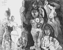 Le théatre de Picasso: Eros et les femmes