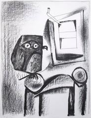 Pablo Picasso - Le Hibou noir (The Black Owl)