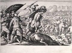 Défaite de la cavalerie Turque (1st State)