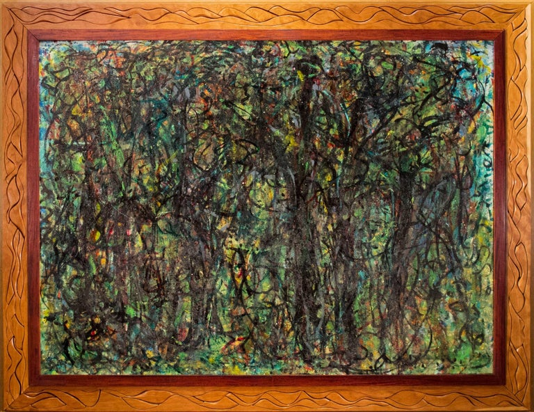 Bruce Dorow Abstract Painting - The Mill